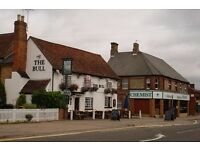 chefs and bar staff wanted at the bull barton