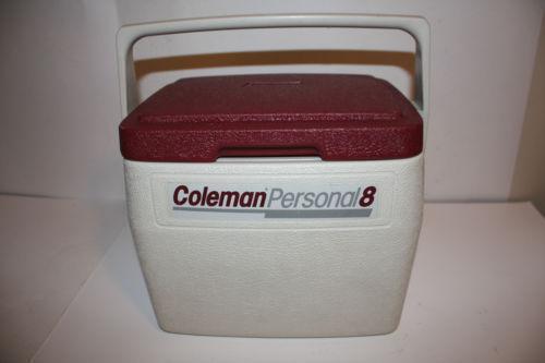 Coleman Personal 8 Cooler Ebay
