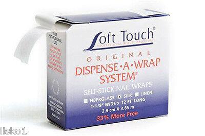 Soft touch Dispense A Wrap System Self Stick Nail Wraps (Silk )