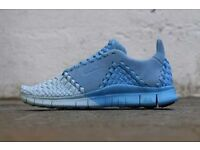 NEW Nike Free Inneva Woven II SP Uk 8.5 Ice Blue