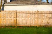 Fence/deck building and repair