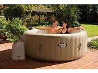 Intex PureSpa™ 4 Person Portable Spa Jacuzzi Hot Tub NEW Watch Video