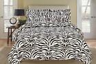 Black and White King Comforter Set