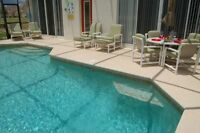 DISNEY area, 5-bdrm PRIVATE POOL home, $130 U.S. tax included