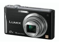 Panasonic Lumix FS35 Digital Camera - Black (16.1MP, 8x Optical Zoom) 2.7 inch LCD