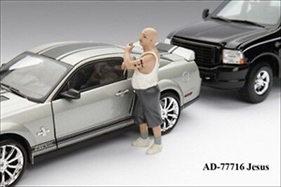 CAR THIEF FIGURE FOR 1:18 MODEL CARS 77716 on Rummage