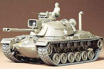 Tamiya 1:35 Scale US M48A3 Patton Tank Plastic Model Kit 351