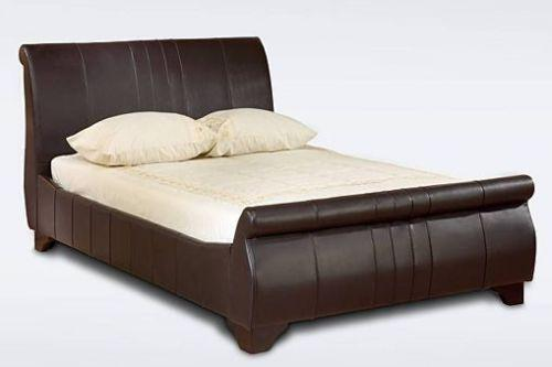 Super King Size Faux Leather Bed Ebay