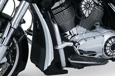 Kuryakyn Radiator Shroud Accents - Chrome 7129 VICTORY Hard-Ball Cross