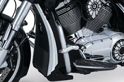 Kuryakyn Radiator Shroud Accents - Chrome 7129 VICTORY Hard-Ball Cross etc