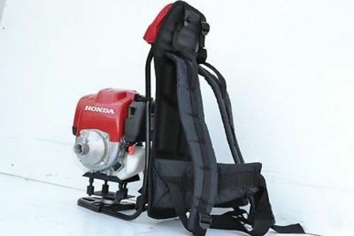 NEW Packer Brothers backpack concrete vibrator poker Honda 4 stroke