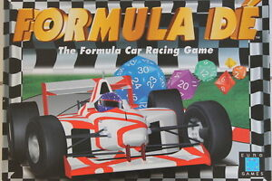 Formula Dé - Motor racing Board Game