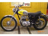 WANTED - PRIVATE BUYER WANTS - CLASSIC MOTORCYCLE - WHAT HAVE YOU GOT - CASH WITHIN 1 HR SAME DAY