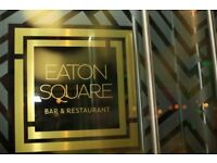 Head Chef position available - Eaton Square Bar & Restaurant