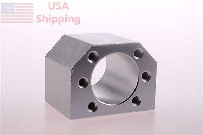 Aluminum Ballscrew Nut Housing Mounting Bracket Holder For 1605 Dsg16h