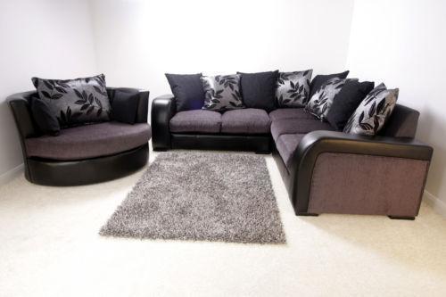 Corner Sofa Cuddle ChairCuddle Chair   Leather  Fabric   Swivel Cuddle Chairs   eBay. Love Chairs Sofa. Home Design Ideas