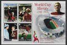 Miniature Sheet Football Postal Stamps