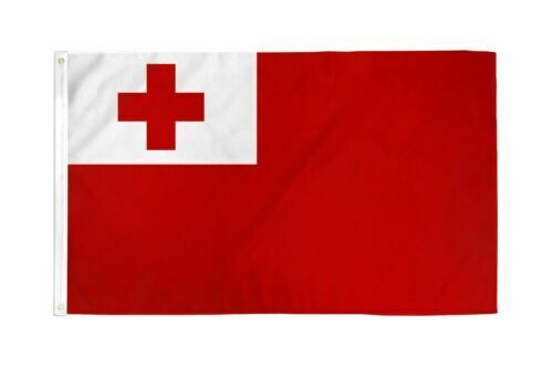The flag of Tonga, 3 x 5 ft, Condition is BRAND NEW !