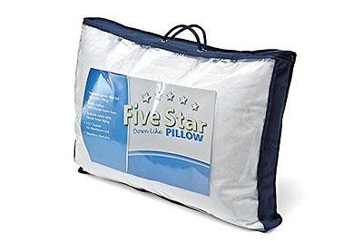 Down Alternative Pillow - Five Star - 100% Cotton Fabric - S