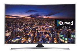A Samsung 48in Curve Smart TV