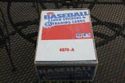 Unopened Baseball Cards Box
