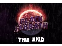 Black sabbath Ticket Saturday 4th February