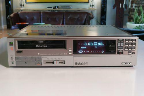 Sell Vhs Tapes >> Sony Betamax Player: Consumer Electronics | eBay