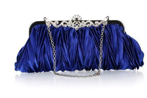 Black Clutch Bag With Chain Detail - OS / BLACK I Saw It First Cheap Online Store Dj6sC