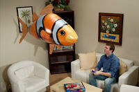 Remote Control Giant Flying Fish Inflatable W/Remote Unisex