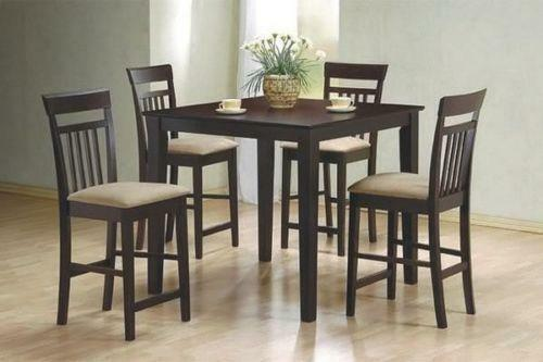 Alluring Bar Stool Dining Table Sets: Counter Height Dining Table And Chairs