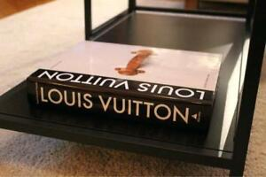 LOUIS VUITTON coffee table book new sealed