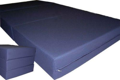 folding ottoman bed ebay. Black Bedroom Furniture Sets. Home Design Ideas