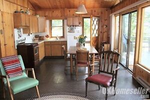 two bedroom waterfront cabin on Suswap Lake in Celista, BC area