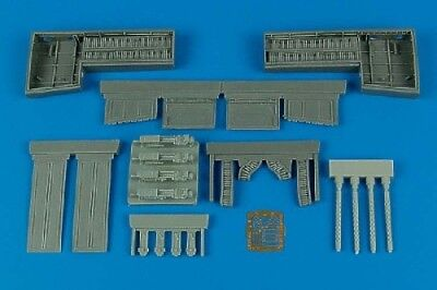 Aires 1/32 P-51B/C Mustang gun bay for Trumpeter kit 2097