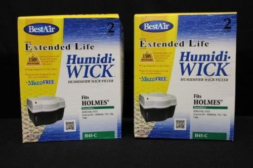 New Lot 4 Filters Holmes Hm-1555, 1500 BESTAIR Humidifiers &