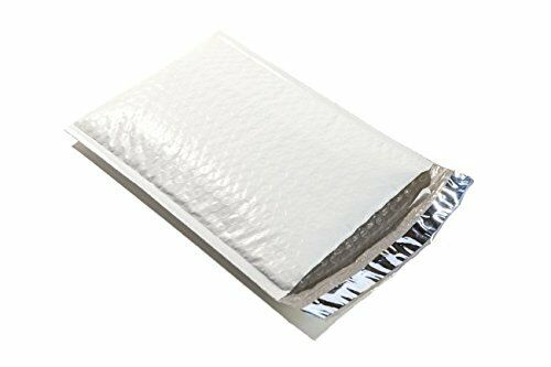 #0 6.5X10 WHITE POLY BUBBLE MAILERS SHIPPING MAILING PADDED ENVELOPES SELF SEAL