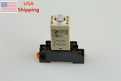 H3y-2 12v Dc 10s Delay Timer Time Relay With Base