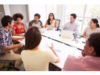 Business Minded People- Mentors - Focus group - Teddington - Richmond.