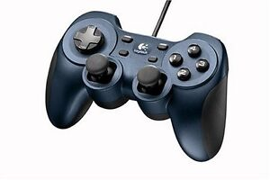 2 Logitech Dual Action USB Gamepads - PS2 Style