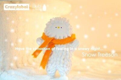 """SNOW BABY TREESON 3"""" VINYL ART FIGURE DCON 2009 CRAZY LABEL Plus Kozik Mongers"""