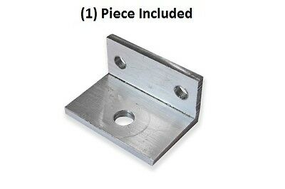 1x Small Aluminum Bracket 90 Degree Angle 1 Inch By 34 Inch With 3 Holes