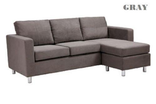 Sectional Sofas IKEA Microfiber Small Modern