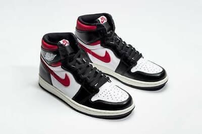 Nike Air Jordan 1 Retro High OG 4-13 Gym Red White Black (Air Jordan 1 High White Black Gym Red)