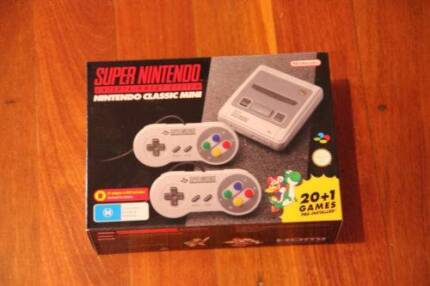 SNES Classic Mini, Brand New Aussie, with receipt, post quickly