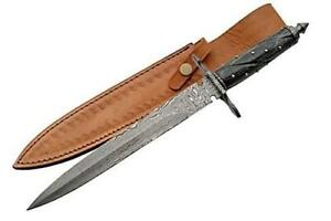 Used SZCO Supplies Damascus Short Sword, Black Condtion: Used, Damage