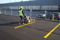 PARKING LOT SWEEPING & LINE PAINTING
