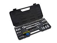 "Blue Spot 01746 52 Piece 1/4"" 3/8"" and 1/2"" DIY socket Extension Car Garage Tool"