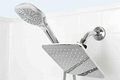 Sunbeam 5 Function Dual Shower Massager with Rainfall Head