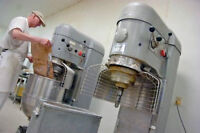 Mixer Positions available in a bakery factory in Etobicoke