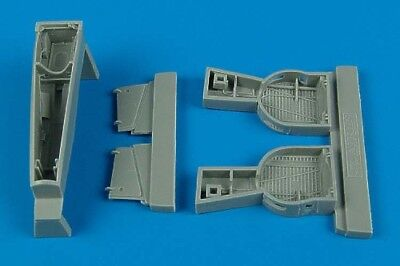 Aires 1/48 P-39 Airacobra wheel bays for Hasegawa kit 4420